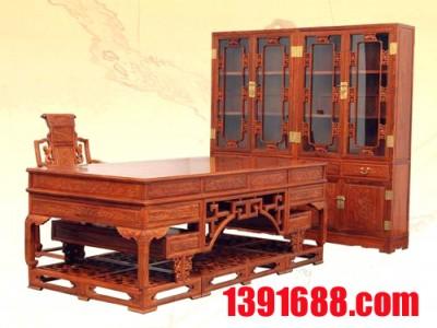 书房红木家具4件套