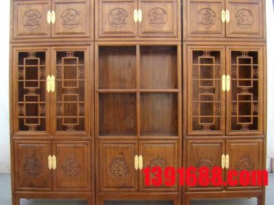团购红木书柜